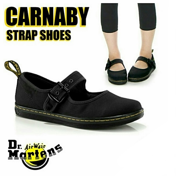dr martens canvas mary janes Dr Martens